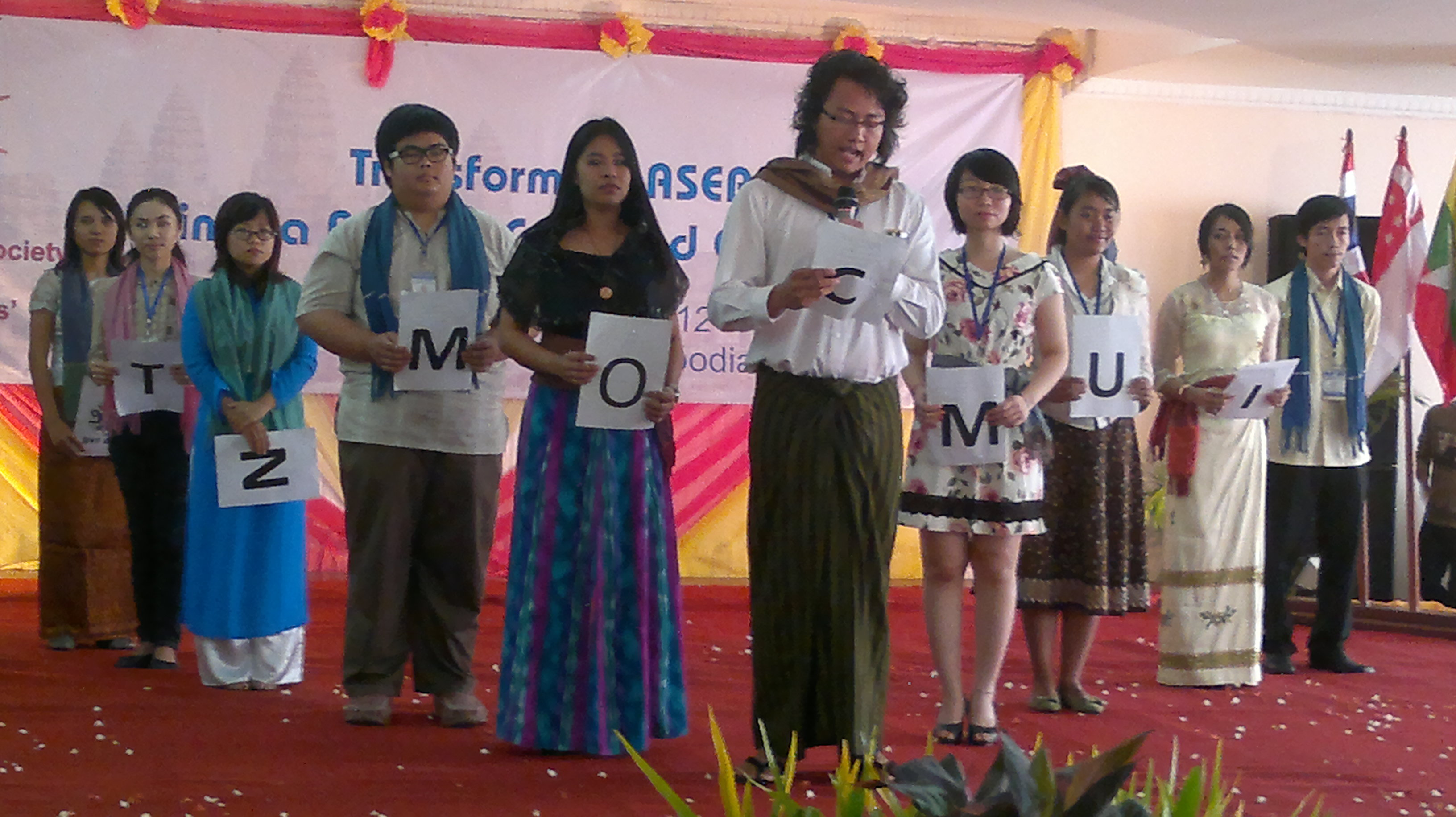 Civil Society Representatives from the ASEAN Countries give testimonies